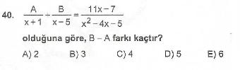 Online KPSS Matematik Deneme Sınavı