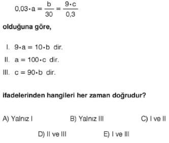 Online KPSS Matematik Deneme Sınavı 8 Çöz