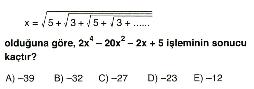 Üslü ve köklü sayılar3