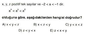 1. dereceden denklem ve eşitsizlikler 10