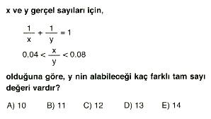 1. dereceden denklem ve eşitsizlikler 2