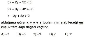 1. dereceden denklem ve eşitsizlikler 3