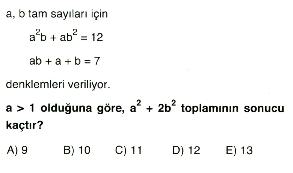 1. dereceden denklem ve eşitsizlikler 9