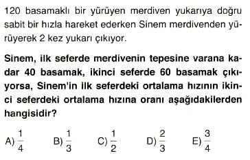 Oran-orantı ve problemler14
