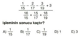 Rasyonel ve ondalık sayılar 10