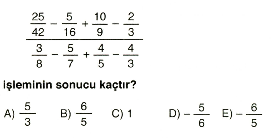 Rasyonel ve ondalık sayılar 13