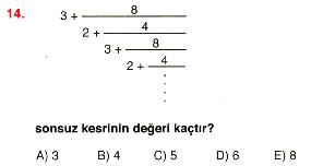 Rasyonel ve ondalık sayılar 14