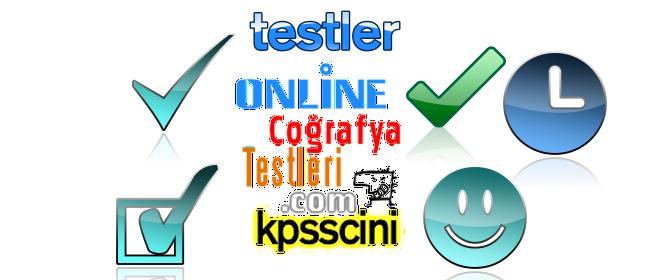 Online KPSS Coğrafya Testi Çöz 2 (TG Denemeden)