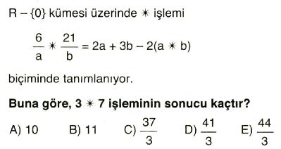 işlem ve modüler aritmetik12