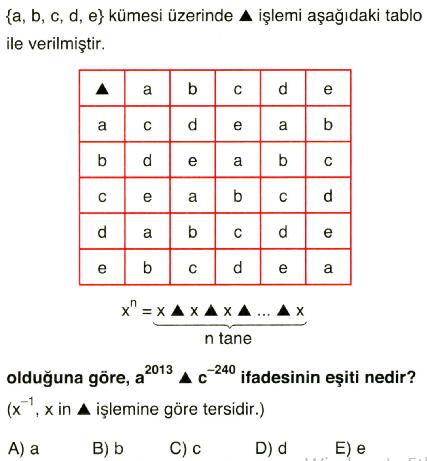 işlem ve modüler aritmetik13