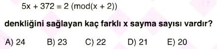 işlem ve modüler aritmetik2-7