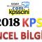 2018 KPSS Güncel Bilgiler Testi Çöz 1