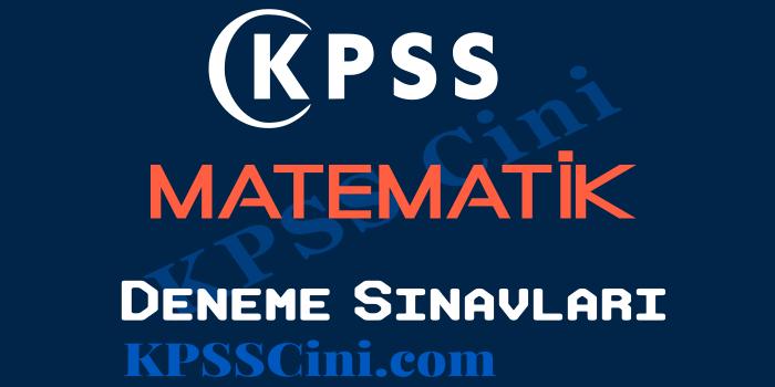 KPSS Matematik Deneme Sınavı Çöz