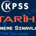 KPSS Tarih Deneme Sınavı Çöz