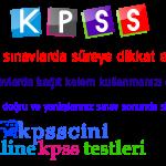 KPSS Online Gelişim ve Öğrenme Testi Çöz (Çözümlü)
