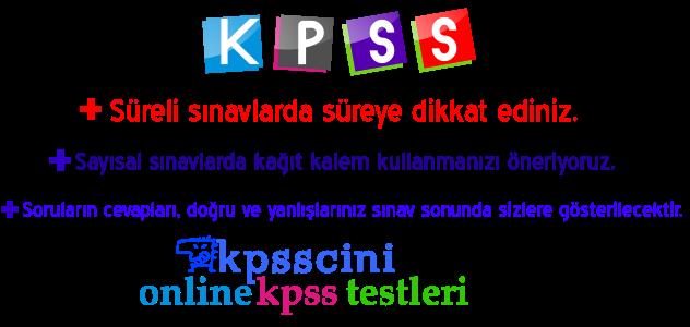 kpss-testleri-online