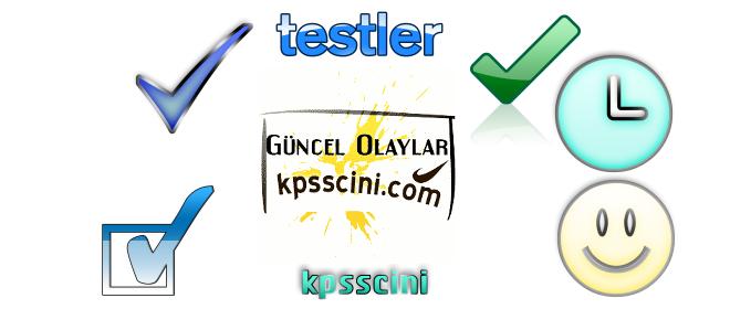2017 KPSS Güncel Bilgiler Testi Online Çöz