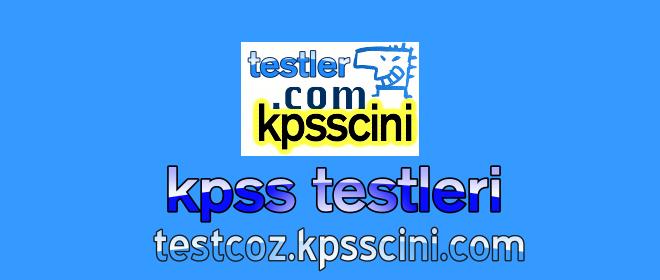 Online KPSS Test ve Denemeleri