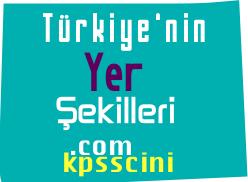 Türkiye'nin Yeryüzü Şekilleri Testi Çöz 2