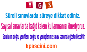 YGS Coğrafya Harita Bilgisi Testi Online Çöz 4